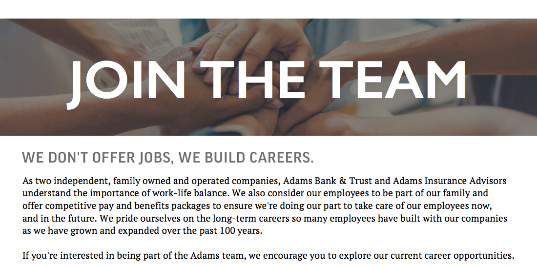 Adams Bank and Trust